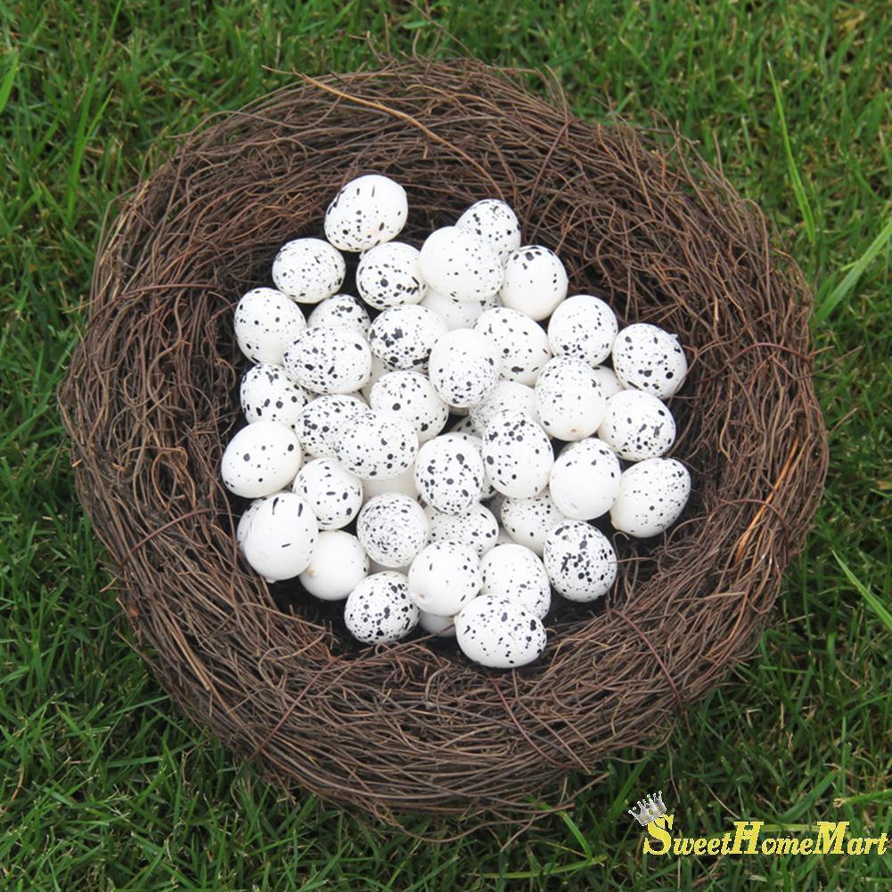 Easter Spring Artificial Imitation Foam Quail Egg Children Toy DIY Home Decor