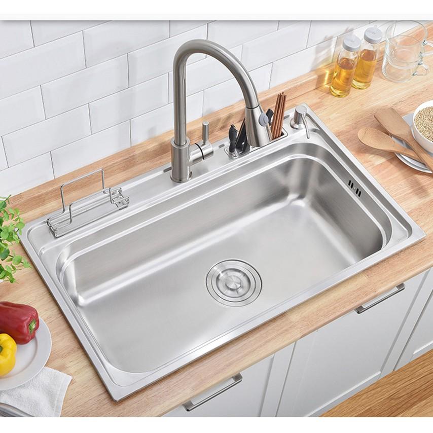 Sus 304 Stainless Steel Kitchen Sink 24