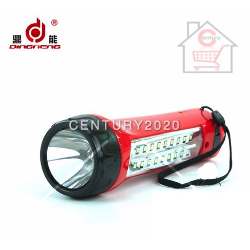 DingNeng LED Super Capacity Torch Light Flashlight DN-112 LED Rechargeable