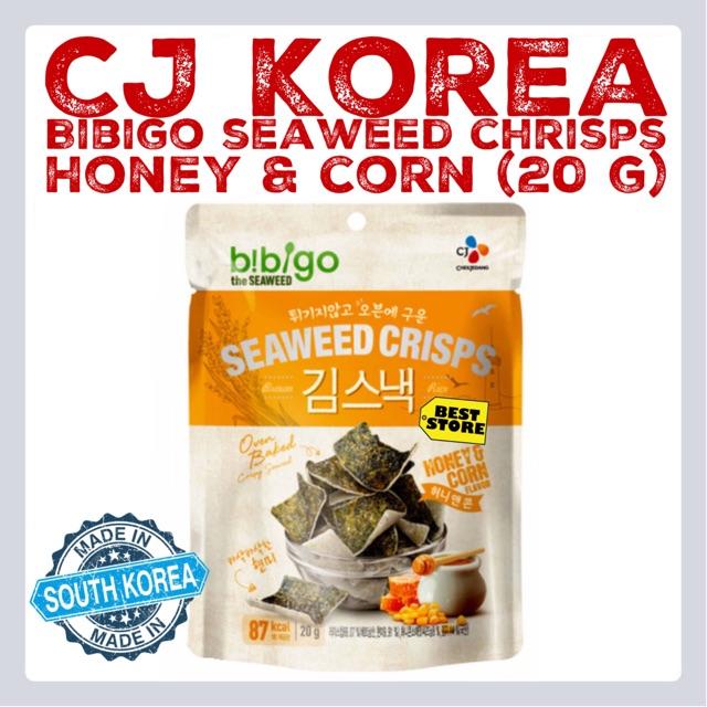 CJ Korea BiBiGo Seaweed Crisps Snack | Shopee Malaysia