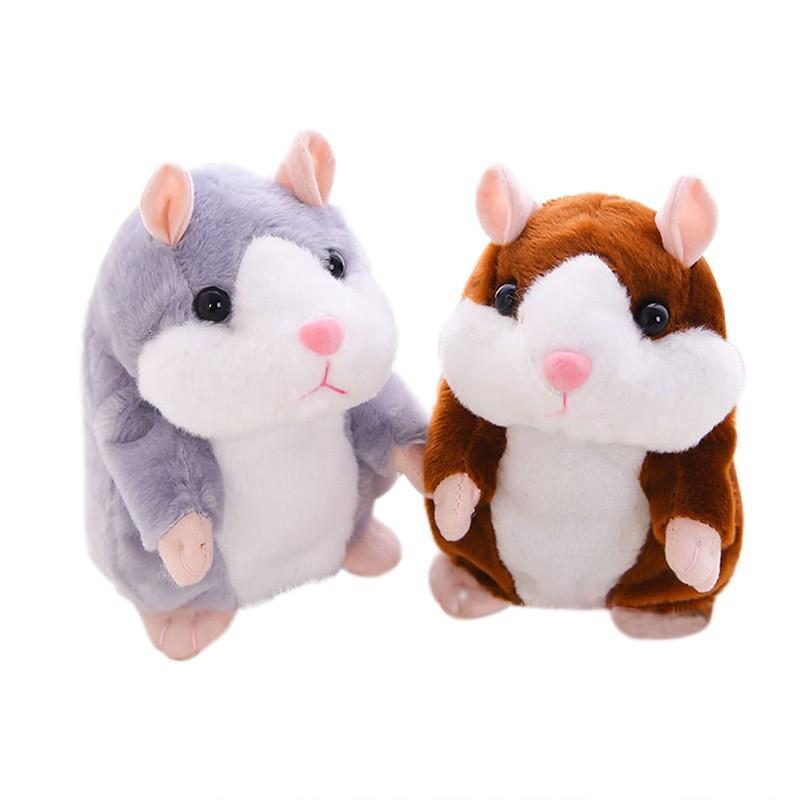 Talking Hamster Mouse Pet Plush Toy Hot Cute Speak Talking Sound Record BO
