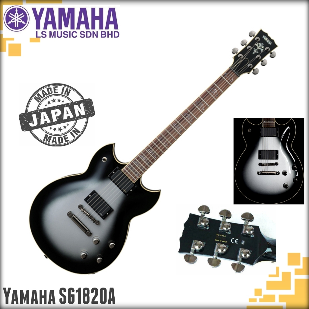 Yamaha Electric Guitar SG1820A Silverburst (Goodcare Clean Display Unit SALE!!)