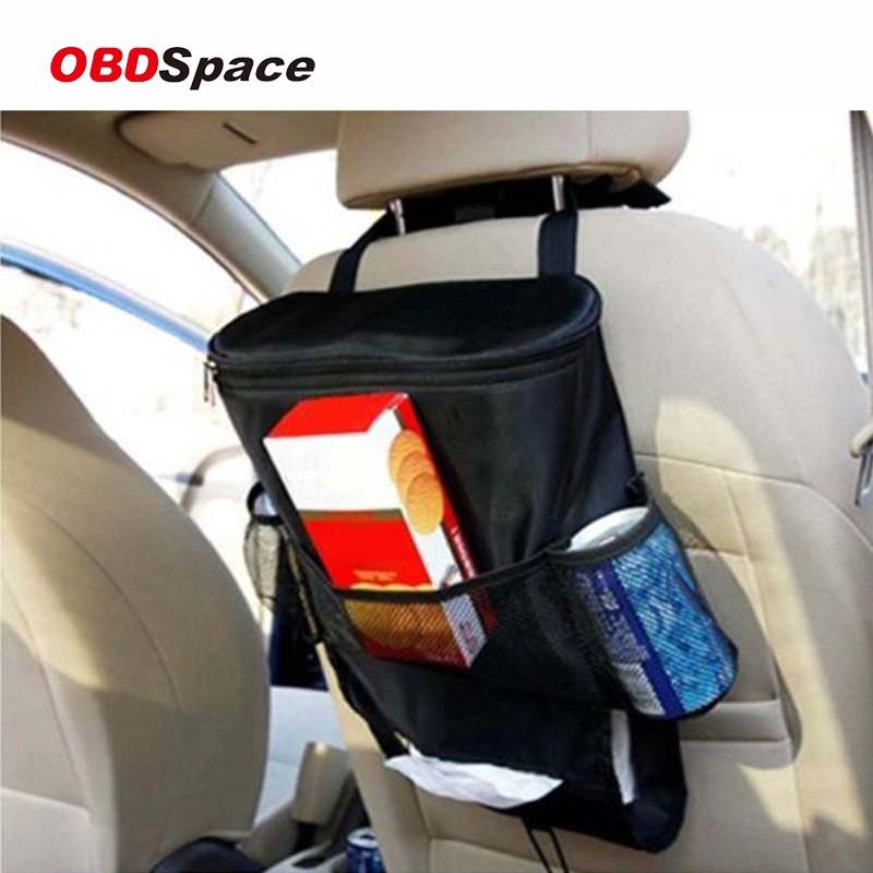 Car Seat Back Multi-Pocket Storage Bag Tidy Organiser Cool Hot Travel Holder UK
