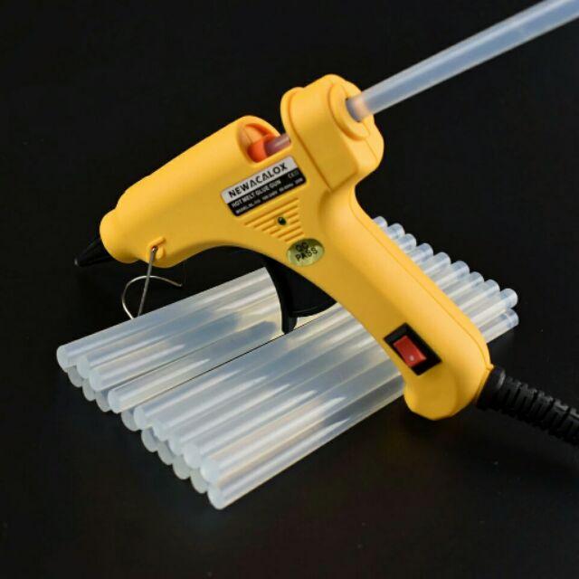 20W EU Plug Hot Melt Glue Gun with Free 1pc 7mm Glue Stick Industrial Mini Guns