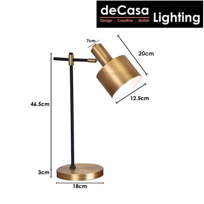 Set With Led Bulb Simple Modern Decorative Table Lamp / Stand Lamp Desk Lamp Study Lamp Lampu Meja (FMT005-F008)