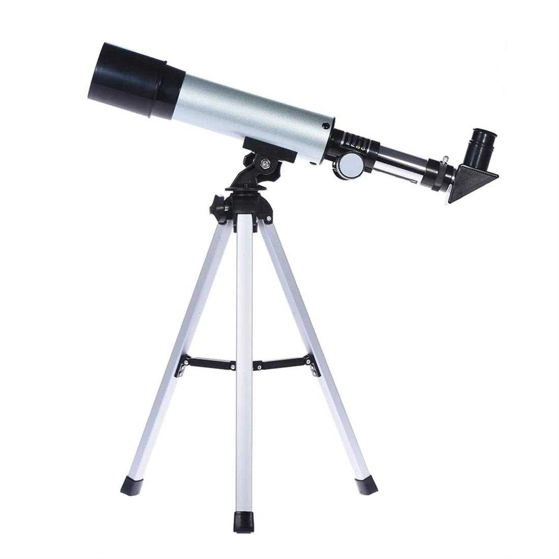360/50mm Monocular Refracting Space Astronomical Telescope Spotting Scope Built-in Optical Glass with Selectable Eyepie