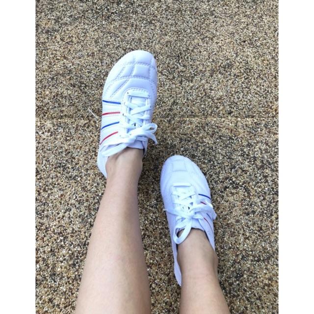 รองเท้าผ้าใบหญิง กันน้ำ น้ำหนักเบา นิ่ม ทำควมสะอาดง่าย ไซร์