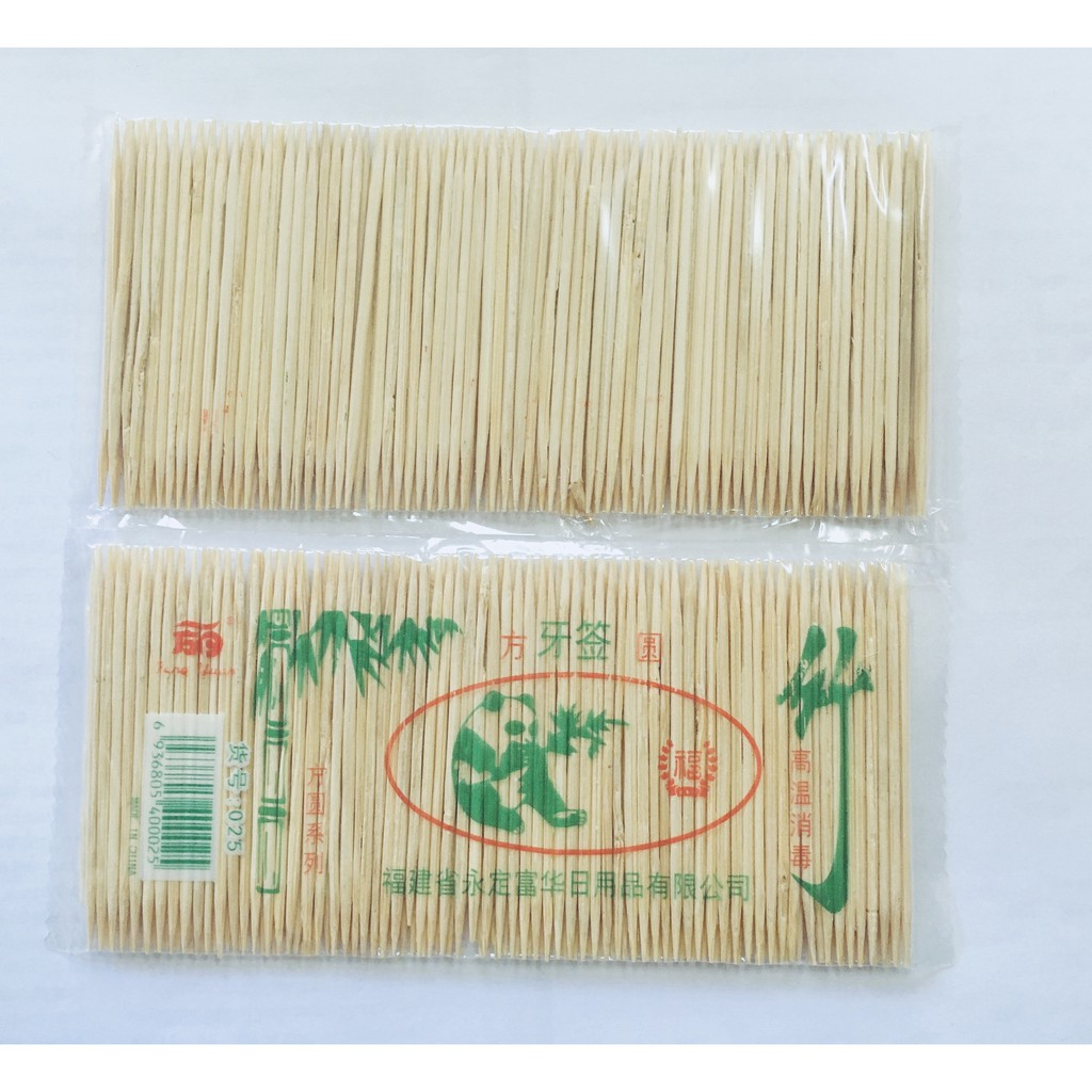 Fine Toothpick Double-Ended Toothpick FangYuan Toothpick 1 pack