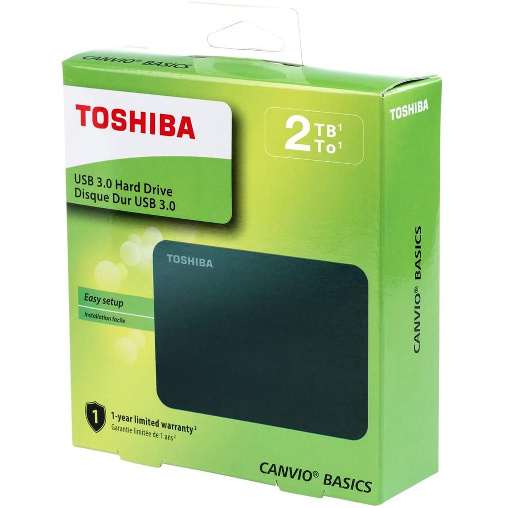 Toshiba 2TB Canvio Connect II External Hard Drive USB3.0##READY STOCK #ORIGINAL 3YEAR WARRANTY ##