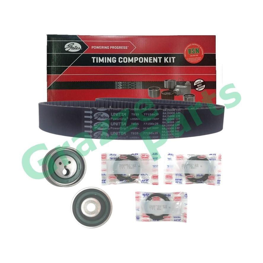 GATES Timing Belt Kit Set for Proton Wira 1.8 Satria 1.8 Putra 1.8 DOHC 156YU29
