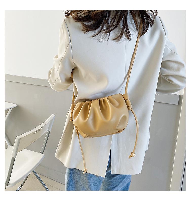 EVON PREMIUM SB039 SUMMER FASHION CLOUD BAG SOFT PU LEATHER WOMEN'S SHOULDER BAGS CANDY COLOURS
