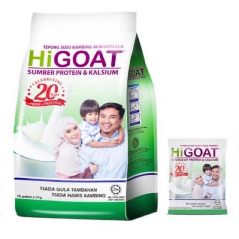 Hi Goat Susu Kambing  100% Original HQ 15's x 21g