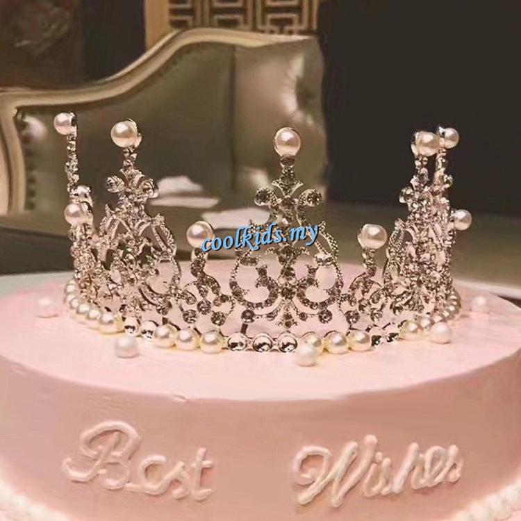 Amazing Crown Cake Topper Decoration Mini Princess Kids Princess Themed Personalised Birthday Cards Paralily Jamesorg