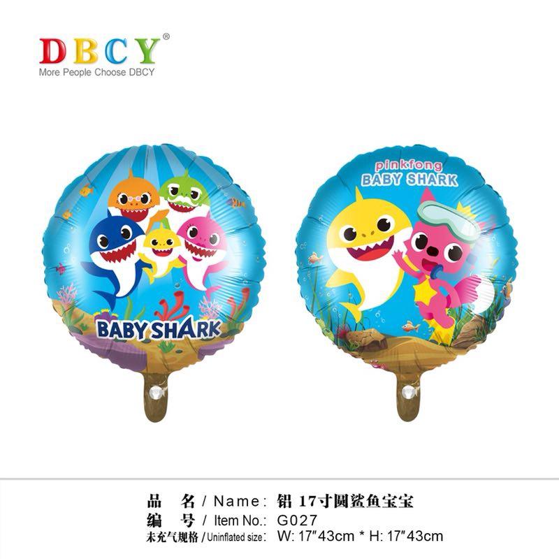 READY STOCK BM] BELON 18 Inches Cartoon Foil Balloons Children Birthday Inflatable Toys Ballons