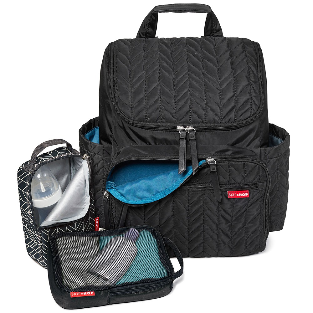 454a7cc93324 Skip Hop  Forma Backpack Diaper Bag - Black