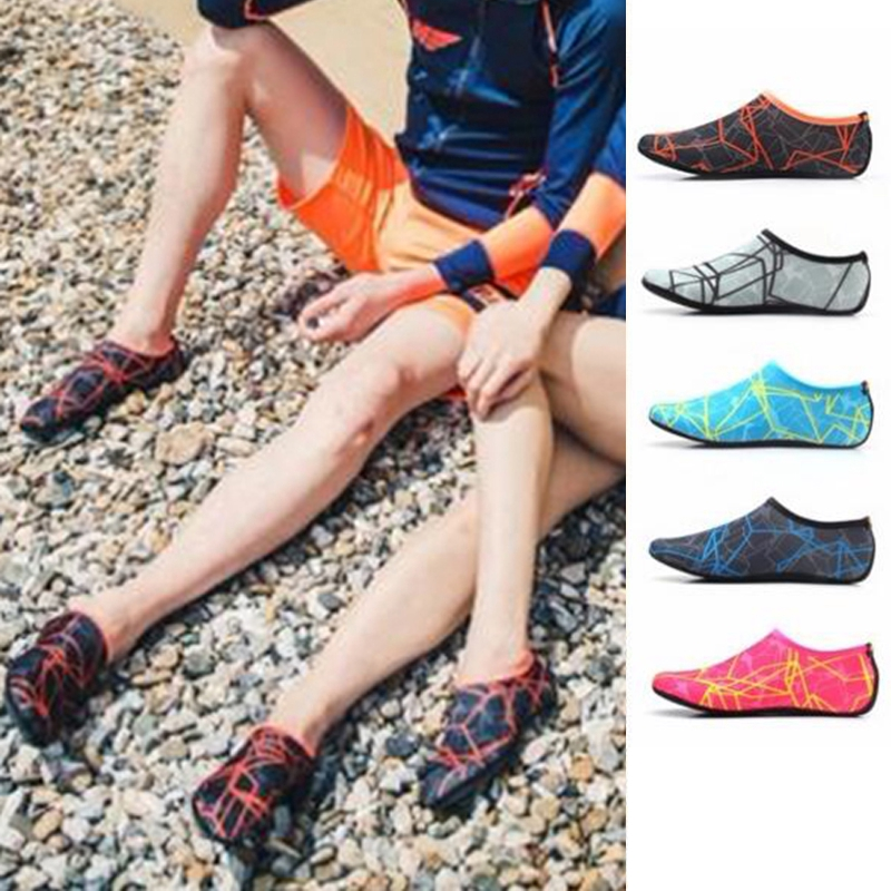 Beach Shoes Yoga Socks Elastic Breathable Quick-drying Men Water Diving Outdoor