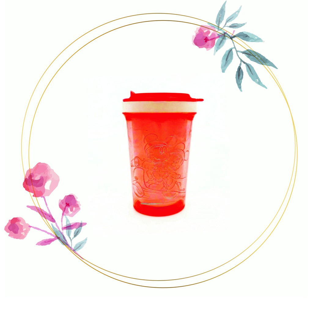 [READY STOCK] Transparent Cute Cartoon Small Water Bottle 200ml