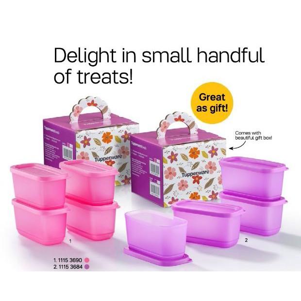Tupperware Sweet Trinkets Gift Set (4~250ml)