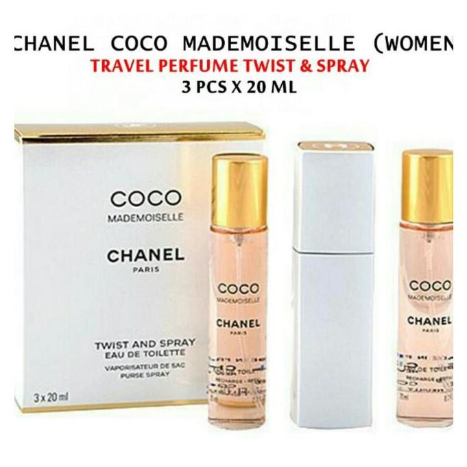 e829acf3dd4951 Coco mademoiselle twist purse spray & 2 refill | Shopee Malaysia