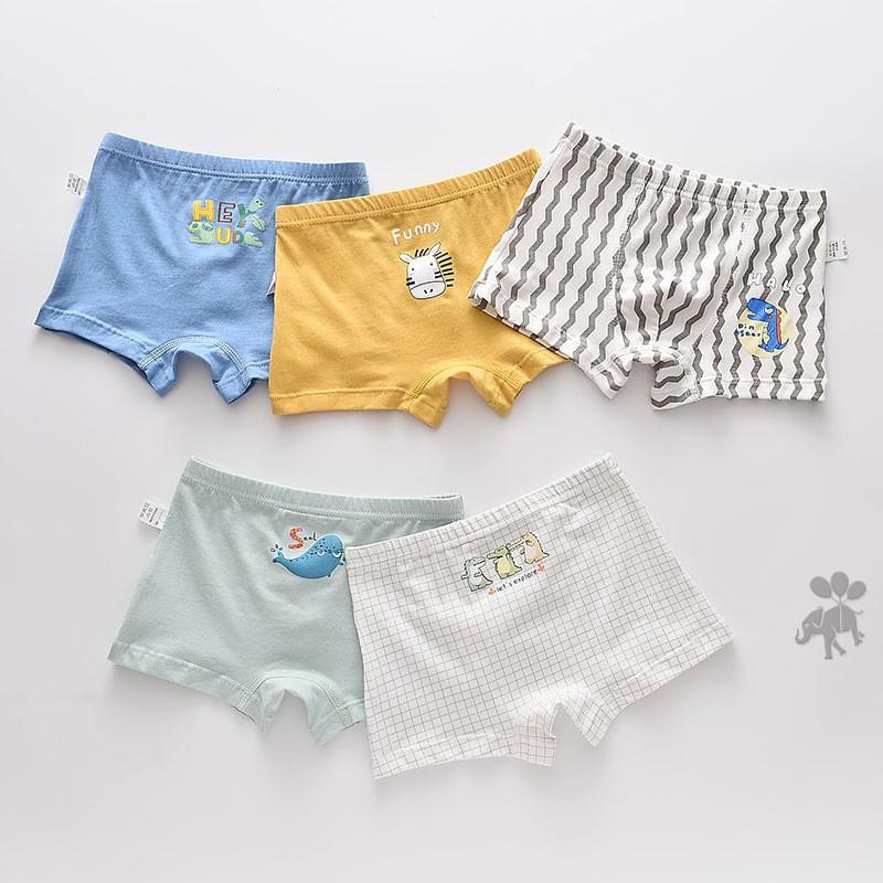 5PCS Cotton Boys Underwear Children Cute Cartoon SuperHero Breathable Soft Panties  Kids Boxer Briefs Baby Boy Underpants | Shopee Malaysia