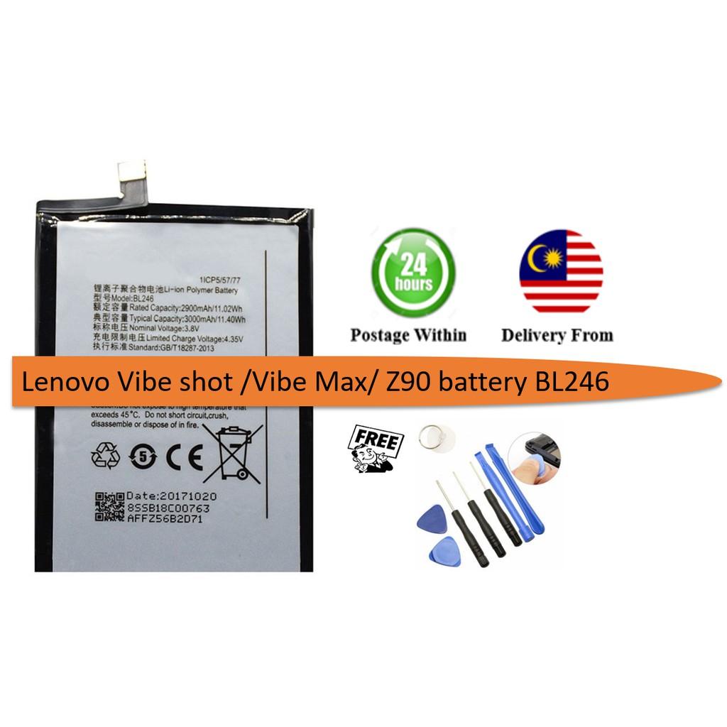 Original Lenovo VIBE SHOT/VIBE MAX/Z90 Battery BL246
