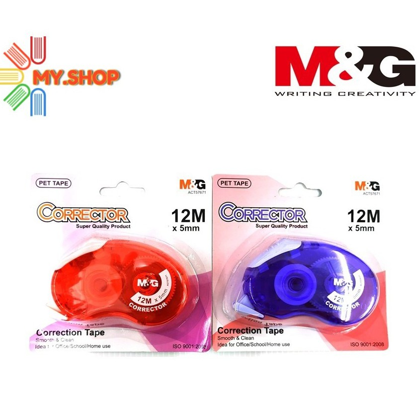 M&G Corrector correction tape 12m×5mm ACT57671