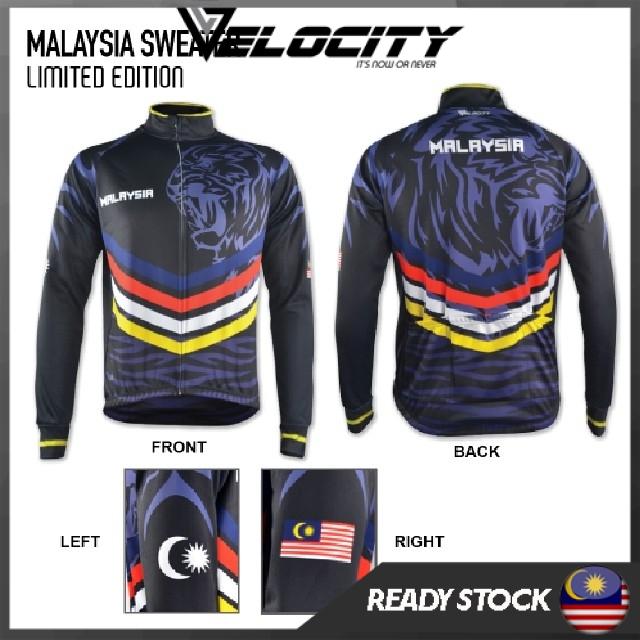 [READY STOCK] Velocity Velocool Cotton Men Women Unisex Malaysian Sweater
