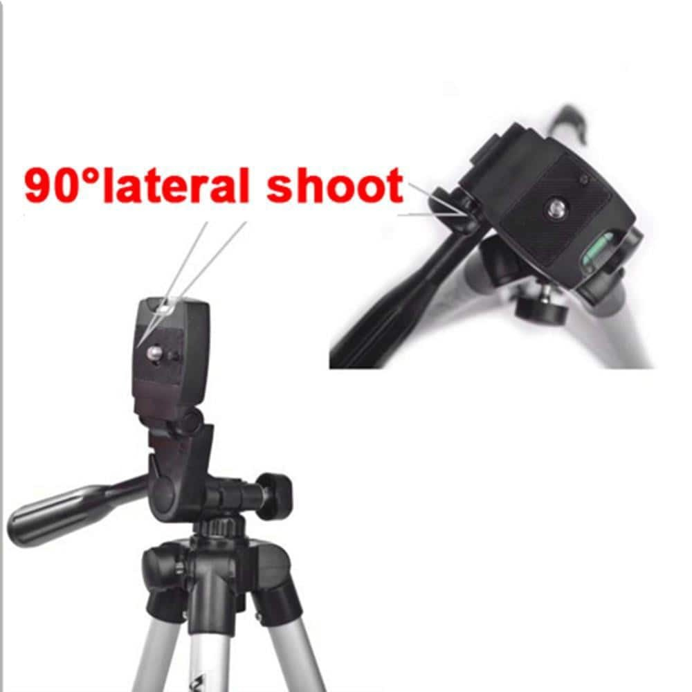 Portable Lightweight 3110 360 Degree Tripod Stand Mount For Phone + Bubble Level