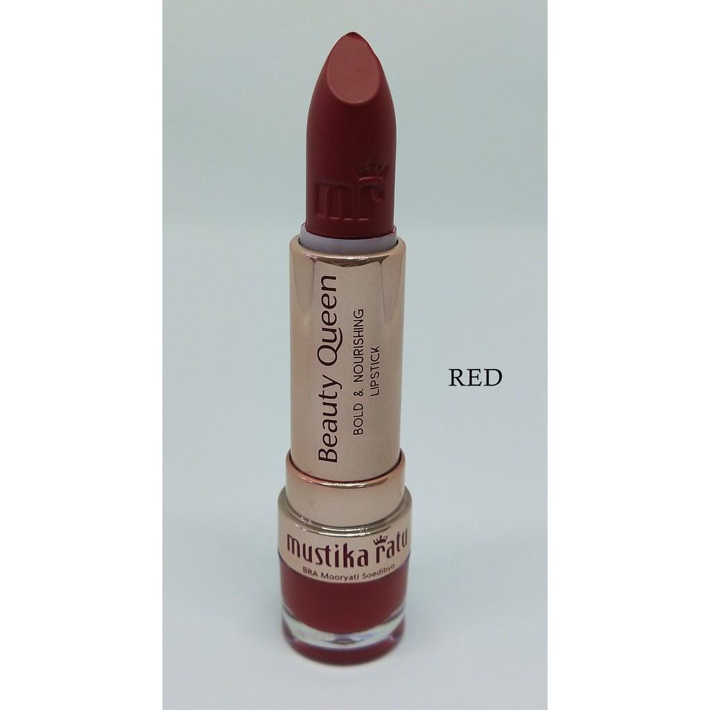 Mustika Ratu Beauty Queen Bold & Nourishing Lipstick RED [Mustika Ratu]