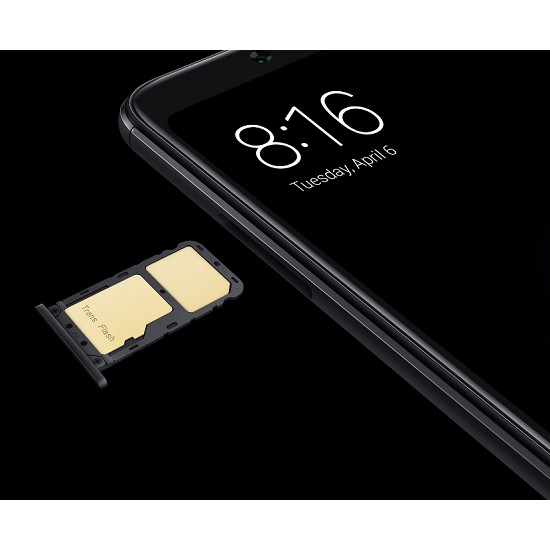 "Original Xiaomi Redmi Note 5 64GB Ai Dual Camera 5.99"" Dual Sim 4G New Imported Global ROM [Warranty by Retrons]"