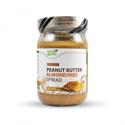 Love Earth Organic Peanut Butter Spread 350g 乐儿有机花生酱 350公克(罐装)