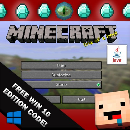 Minecraft Premium Account Pc Free Win10 Edition Key Code Shopee Malaysia