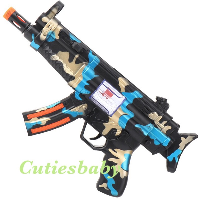 Flash Light Sound Kids Toys Play Gun Shopee Malaysia