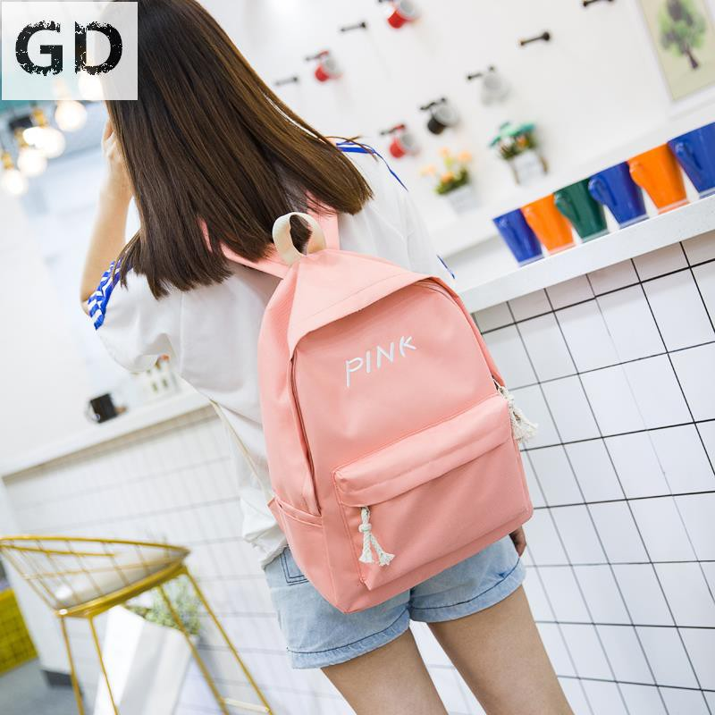 aa362e211c15 GD backpack female Korean version of the tide New Harajuku ulzzang high  school s