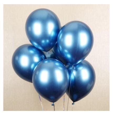 READY STOCK BM] 10PC/set belon 12 Inch Latex Balloon Wedding Birthday Party Festive Decor Belon Chrome Balloon