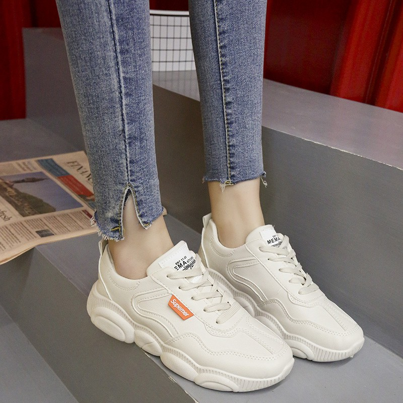 d513e5bd2 Small white shoes female 2019 spring bear shoes winter women's shoes ...