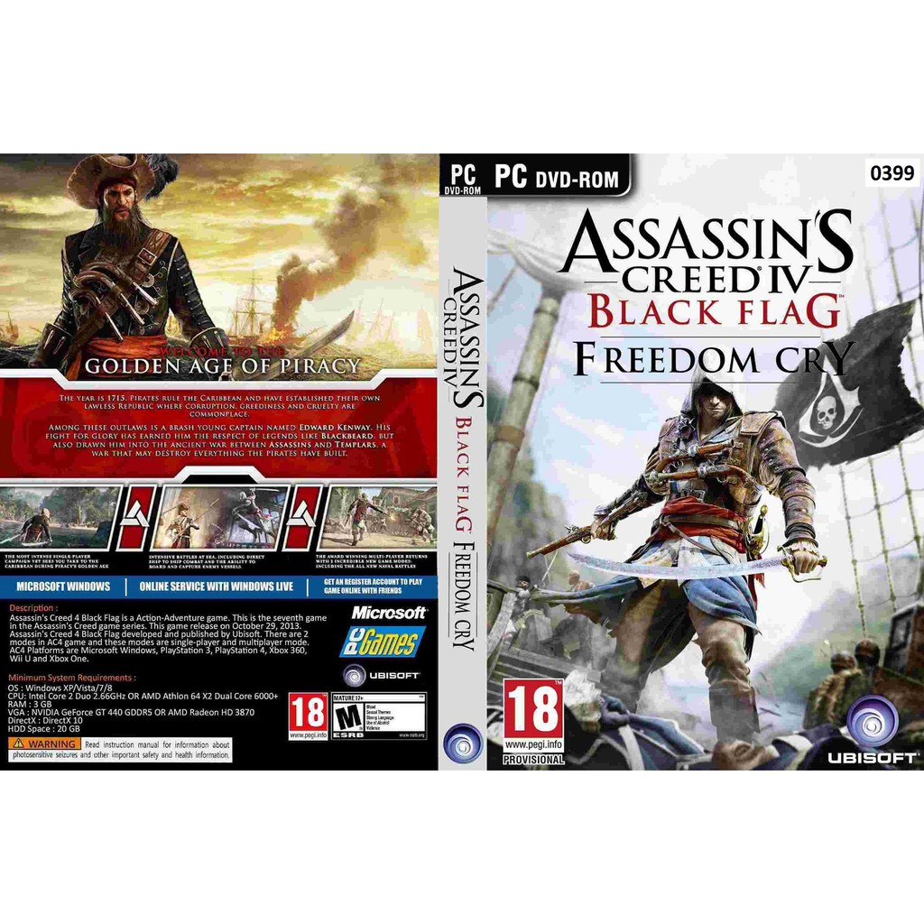 (PC) Assassin's Creed 4 Black Flag Freedom Cry