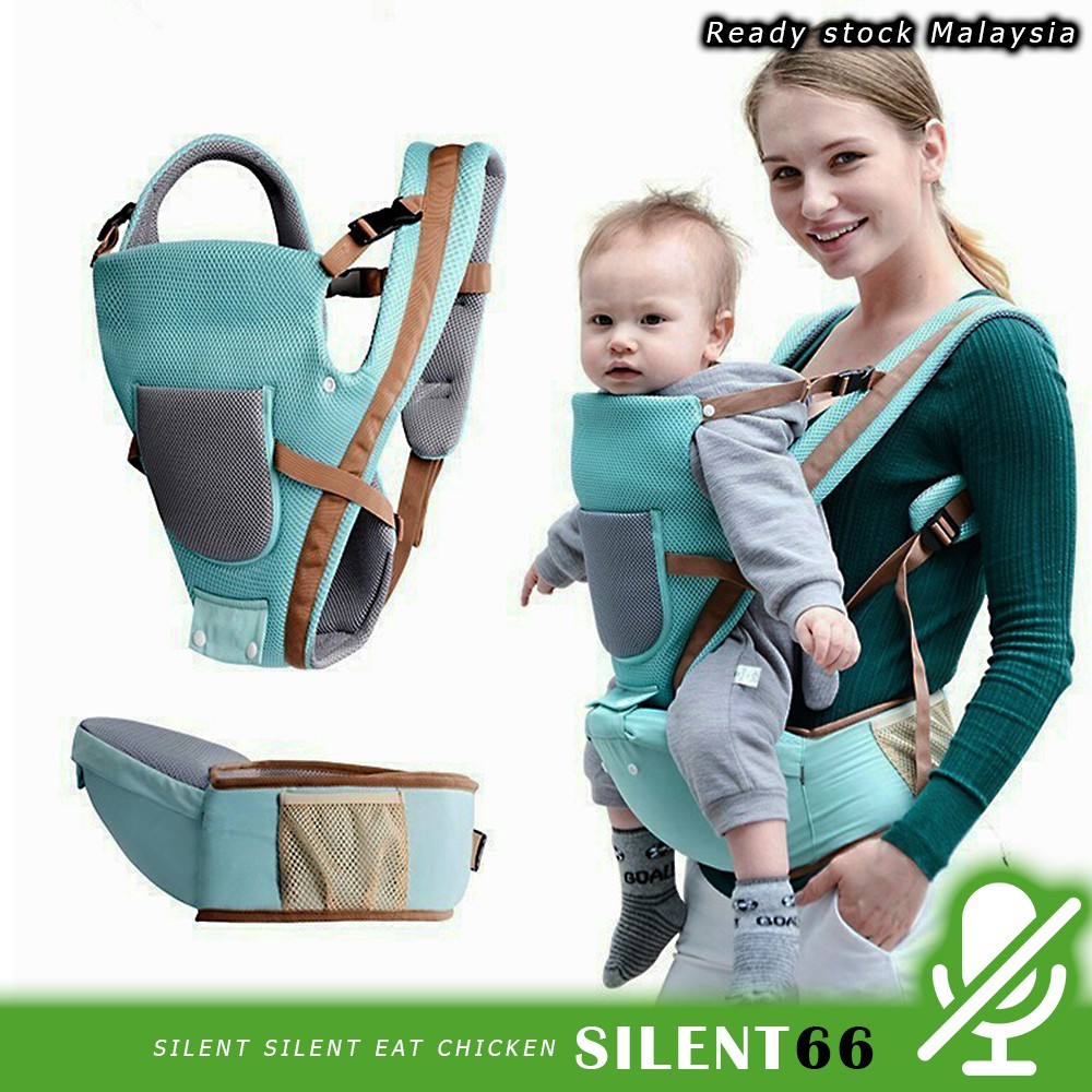 1f87a4e3f123 M'SIA READY STOK Multifunctional Baby Carrier Sling Backpack Pouch Wrap Baby