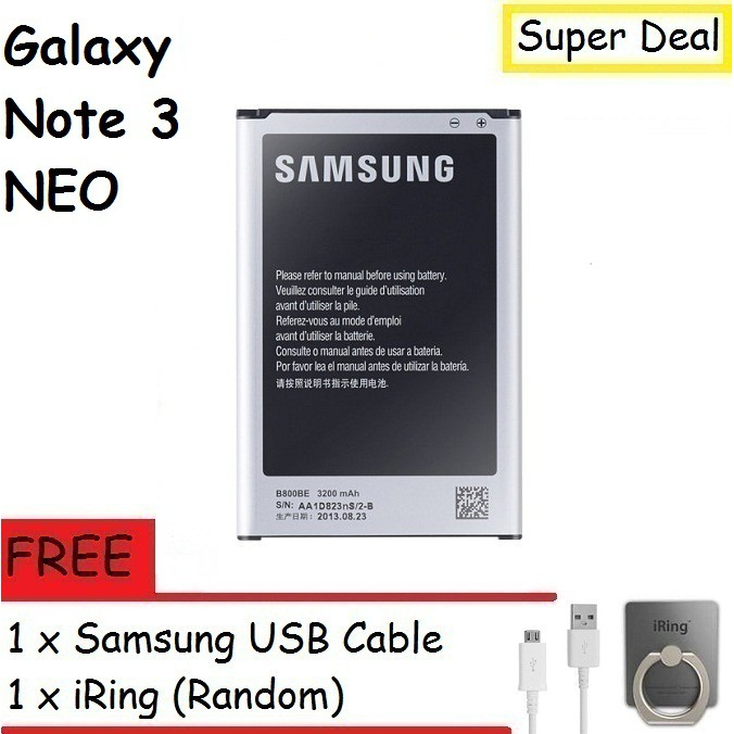Samsung Galaxy Note 3 Neo N7505 Battery With Free Gift