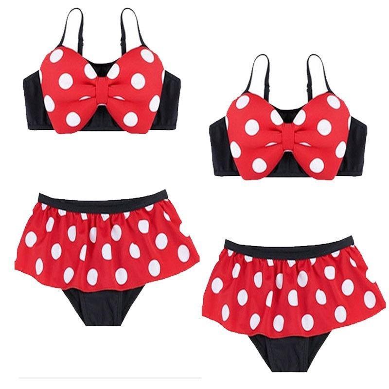 bd8bebab10d0 Swimsuit Cute Bowknot Baby Girl Kids Bathing Suit Swimwear Bikini Set  Tankini | Shopee Malaysia