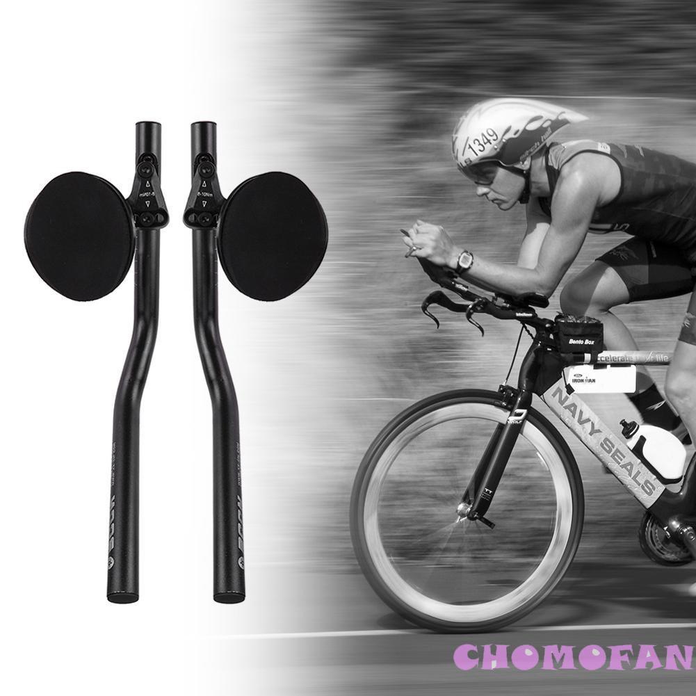 1pair 31.8mm Carbon Fiber 12K Aero bar Road MTB Bicycle TT Rest Handlebar