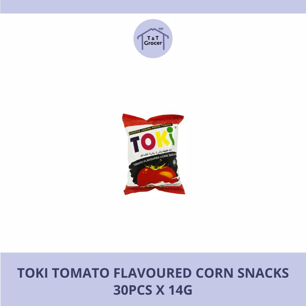 Toki Tomato Snacks (30x14g / 10x60g)
