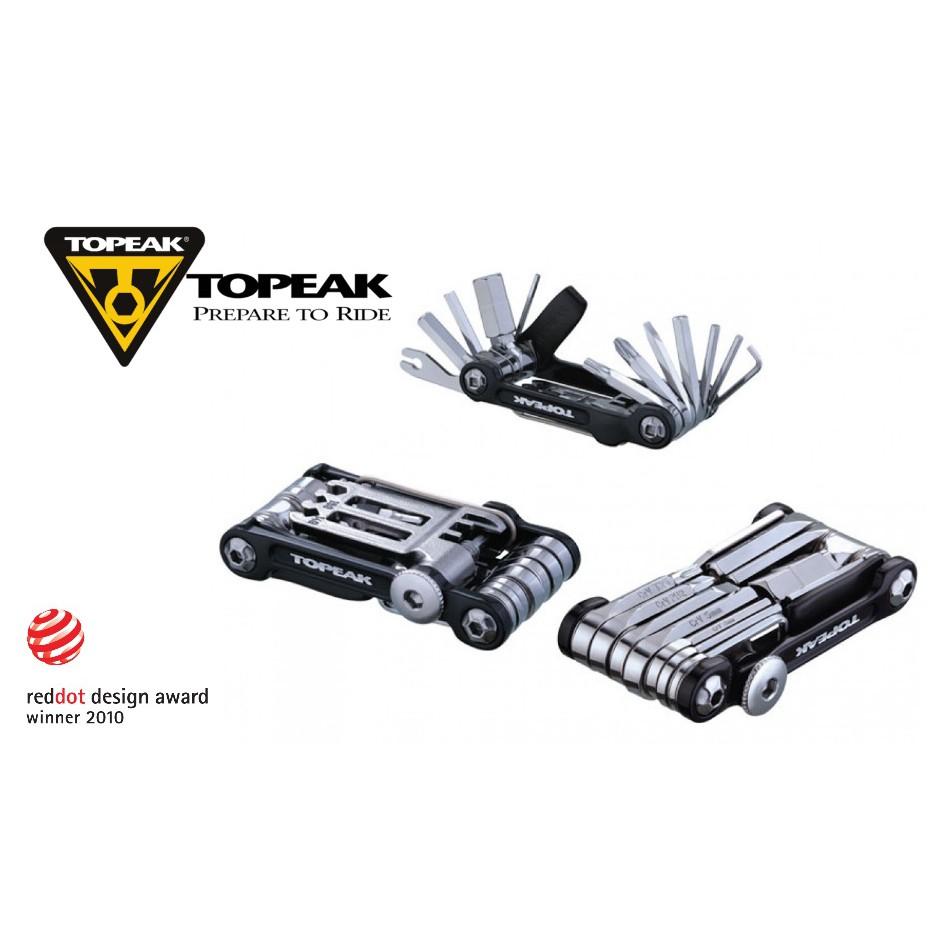 Topeak Mini 20 Pro Bike Maintenance 23-Function Multi Tool Black