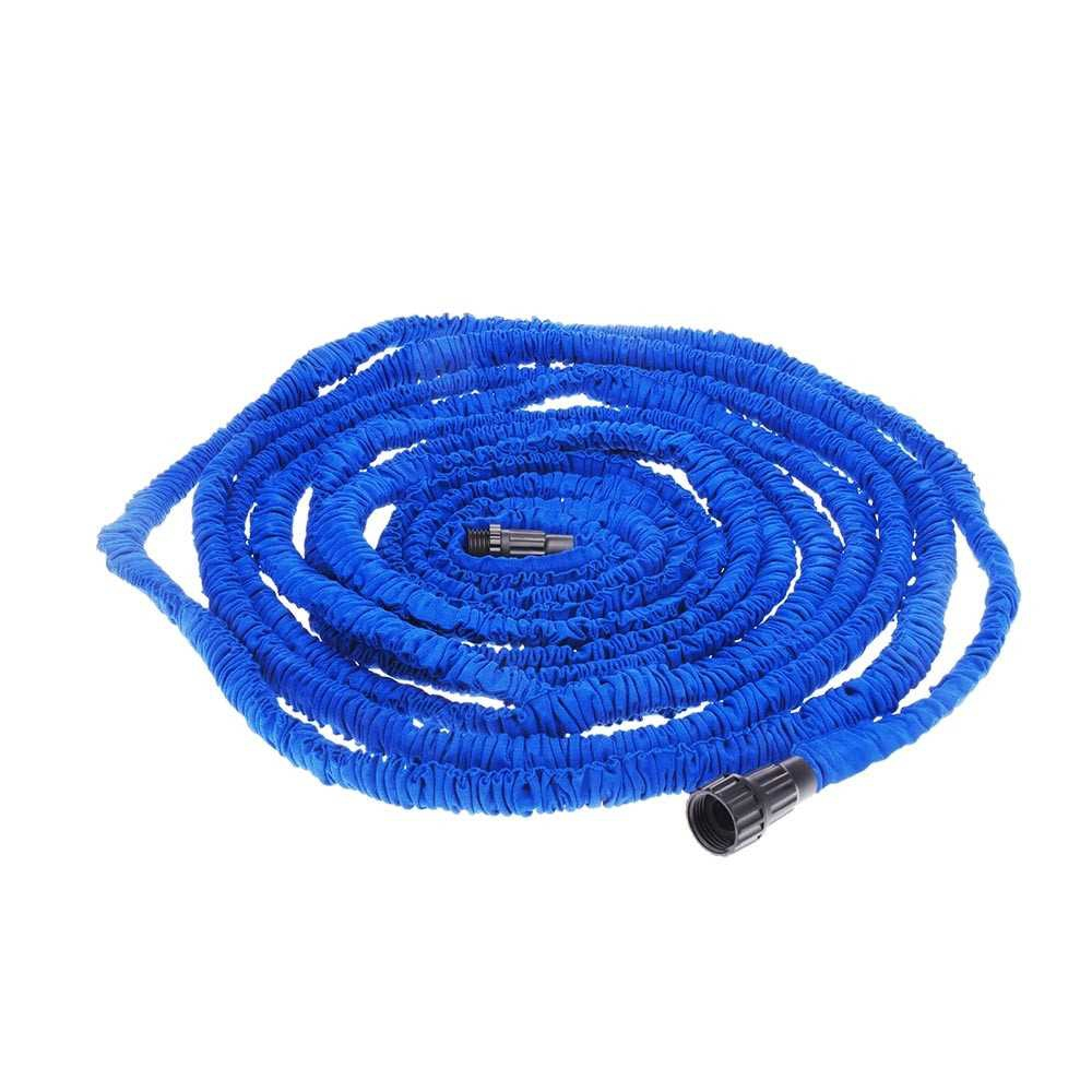 75FT Expandable Ultralight Garden Hose Fittings Set Flexible Water Pipe + Faucet Connector + Fast Connector + Valve + M