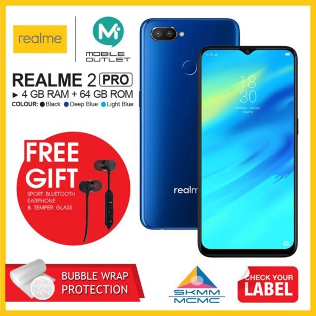 Realme 2 Pro 4GB/64GB (Original Realme Msia)