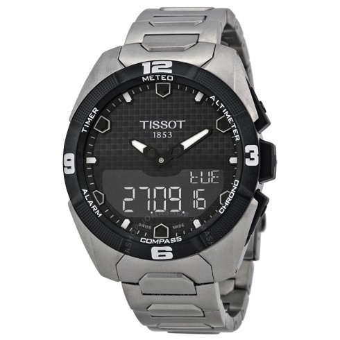 153f488305b Tissot T091.420.46.051.01 T-Touch Expert Solar Leather T0914204605101