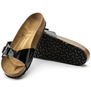 new styles 66c72 090c1 ORIGINAL BIRKENSTOCK MADRID BLACK LACK 040303 | Shopee Malaysia