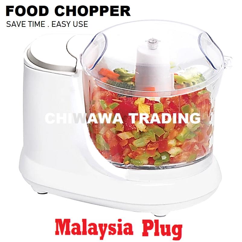 【Malaysia-plug】 CAPSULE CUTTER Food Chopper Blender Grinder Cutter Mixer Juicer Mincer Shredder / Pengisar Pengadun