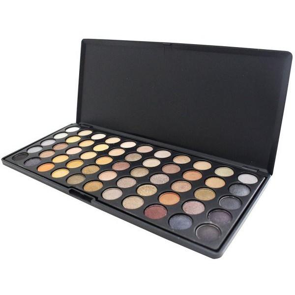MISS ROSE 55 Colors Eye shadow High Shimmer Palette Luminous Eye Shadow Glitter