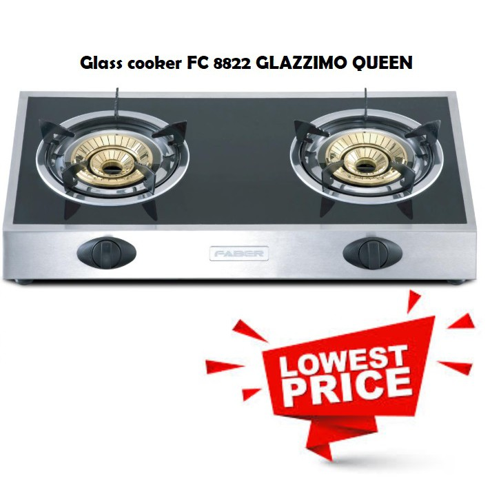 Faber Glass cooker FC 8822 GLAZZIMO QUEEN